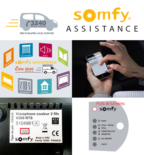 Somfy Assistance